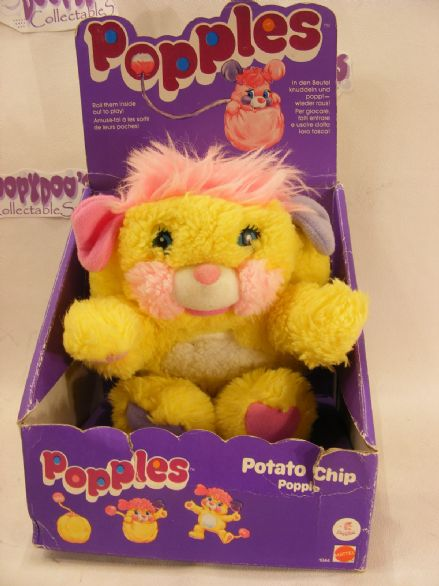 "VINTAGE MIB 8"" POTATO CHIP POPPLE POPPLES"